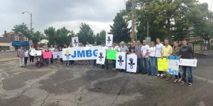 St. Louis Gave Support To Protests For JMBG